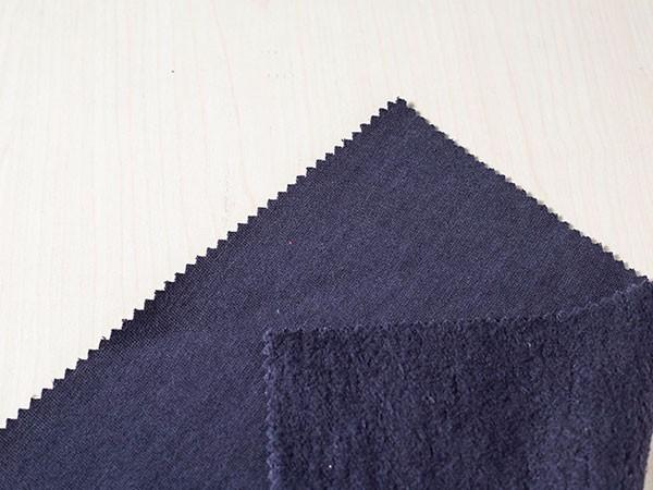 全棉阻燃面料单面绒布