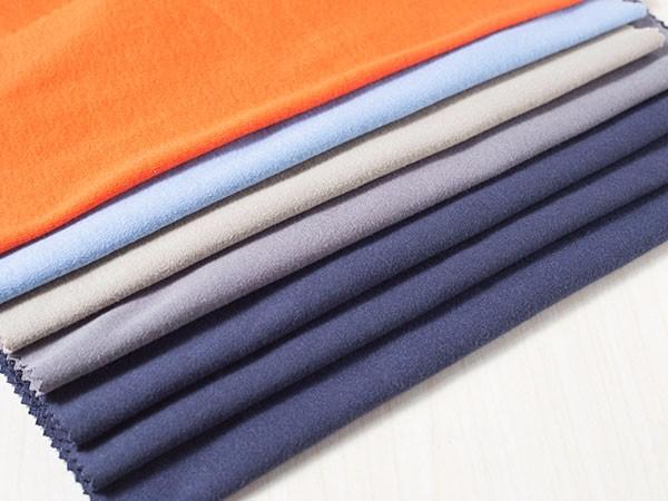 针织阻燃面料双面棉毛布